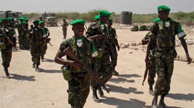 AU troops attacked in Mogadishu