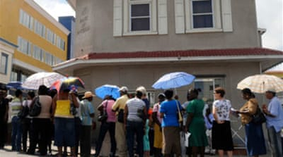 Authorities seize Antigua bank