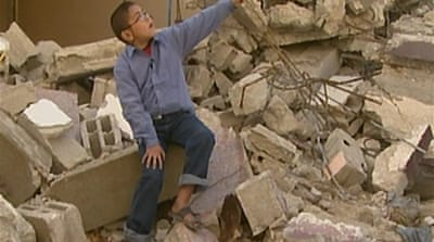 Video: Gazan boy recalls war horror