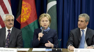 Clinton hails Afghan-Pakistan talks