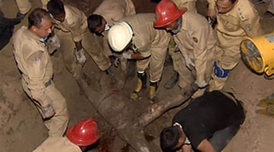 Bodies unearthed after Dhaka mutiny