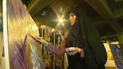 Video: Iran's artists restricted