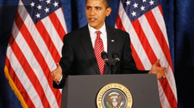 Obama decries stimulus plan delay