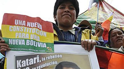 Bolivia enacts new constitution