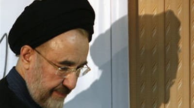 Khatami 'banned' from leaving Iran