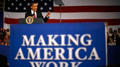 Obama urges end to stimulus delay