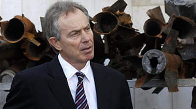 Blair calls for new Gaza strategy