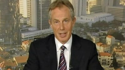 Video: Blair discusses Gaza future