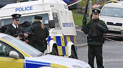 Arrests made over N Ireland attack