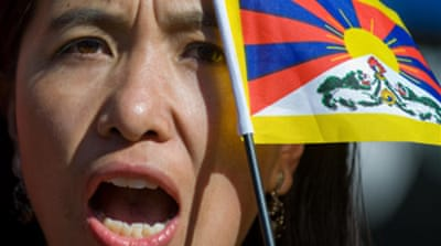 Arrests in China as Tibetans riot
