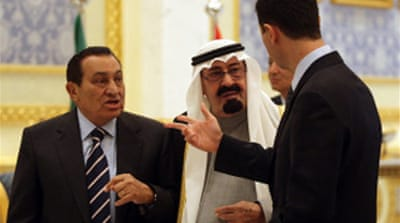 Mini-summit pledges Arab unity