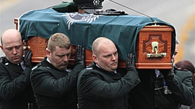 N Ireland mourns murdered officer