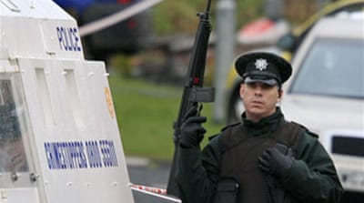 Men held over N Ireland killings