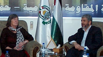 British MPs meet Hamas leader