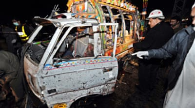 Suicide blast hits Pakistan city