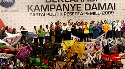 Indonesia election campaign begins
