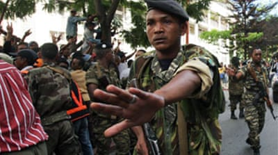 Military handed power in Madagascar
