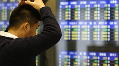Asia markets dive on US gloom