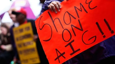 US House moves to tax AIG bonuses