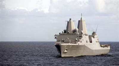 US navy vessels collide off Iran