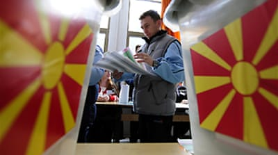 Macedonia counts presidential votes