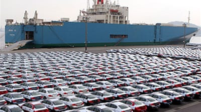 Japanese exports hit new low
