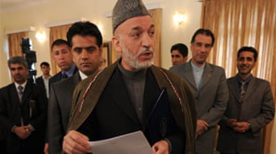 Karzai welcomes new US strategy