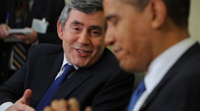 Brown and Obama hold US talks