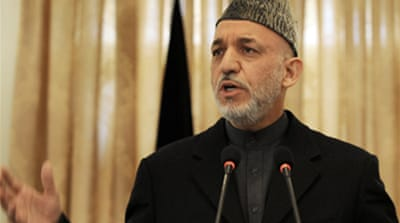 Karzai approves August poll date