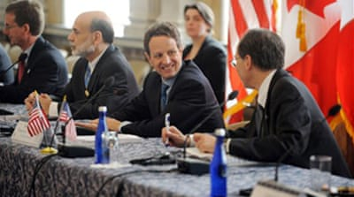 G7 ministers hold US finance talks