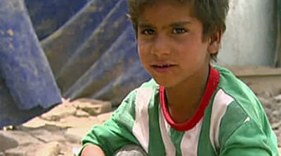 Video: Iraq's 'forgotten people'