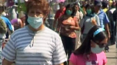 Video: Mexico battles flu outbreak