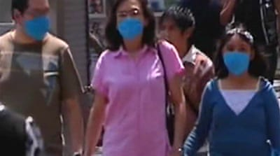 Video: Mexico City in flu clampdown