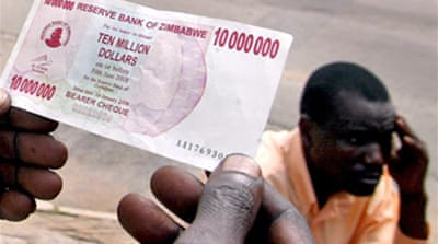 US dollar eases Zimbabwe inflation