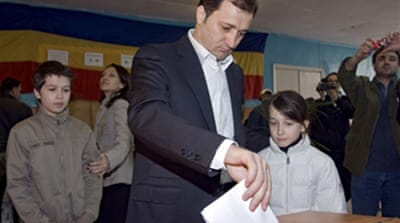 Moldova votes for new parliament