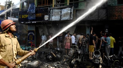 Blasts kill many in India's Assam
