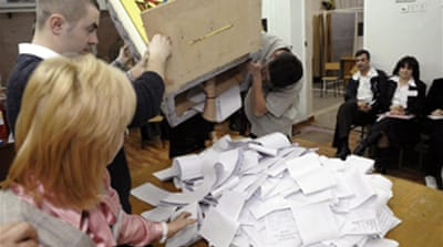 Communists win Moldovan elections