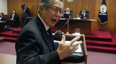 Fujimori jailed on murder charges