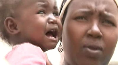Video: Darfur camp at tipping point