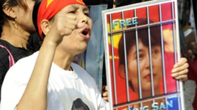 Outcry grows over Suu Kyi charges