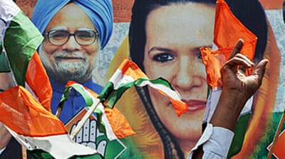 Congress claims India poll victory