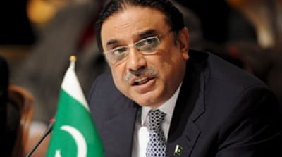 Zardari open to talks with Taliban