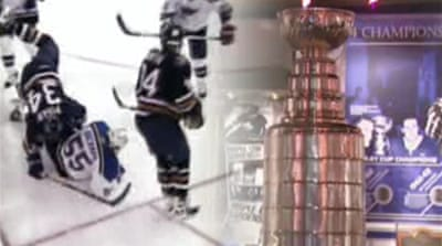 Video: NHL's historic Stanley Cup
