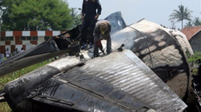 Timeline: Indonesia air disasters