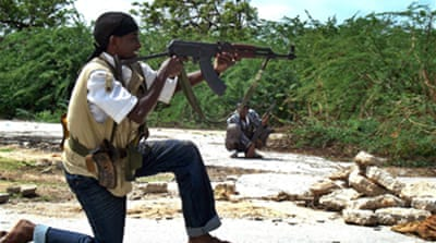 Somali fighters attack AU troops