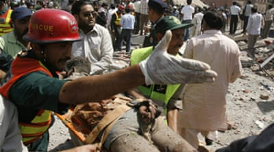 Taliban group claims Pakistan blast