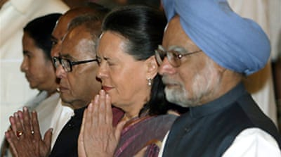New Indian ministers sworn in