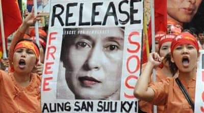'Grave concern' over Suu Kyi health