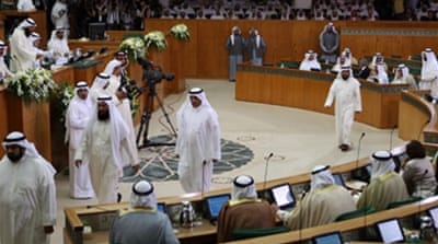 Kuwait MPs in walkout over cabinet