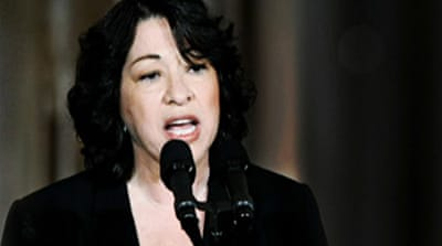 Video: Sotomayor under fire